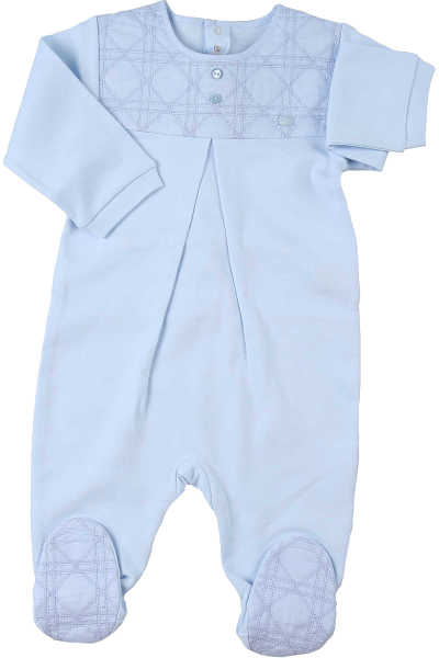 Baby Dior Baby Bodysuits & Onesies for Boys Skyblue UK - GOOFASH - Mens SUITS