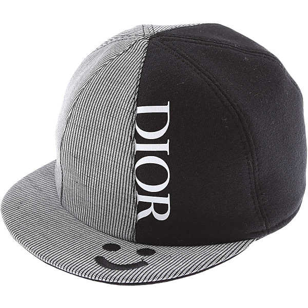 Baby Dior Baby Hats for Boys Black UK - GOOFASH - Mens HATS