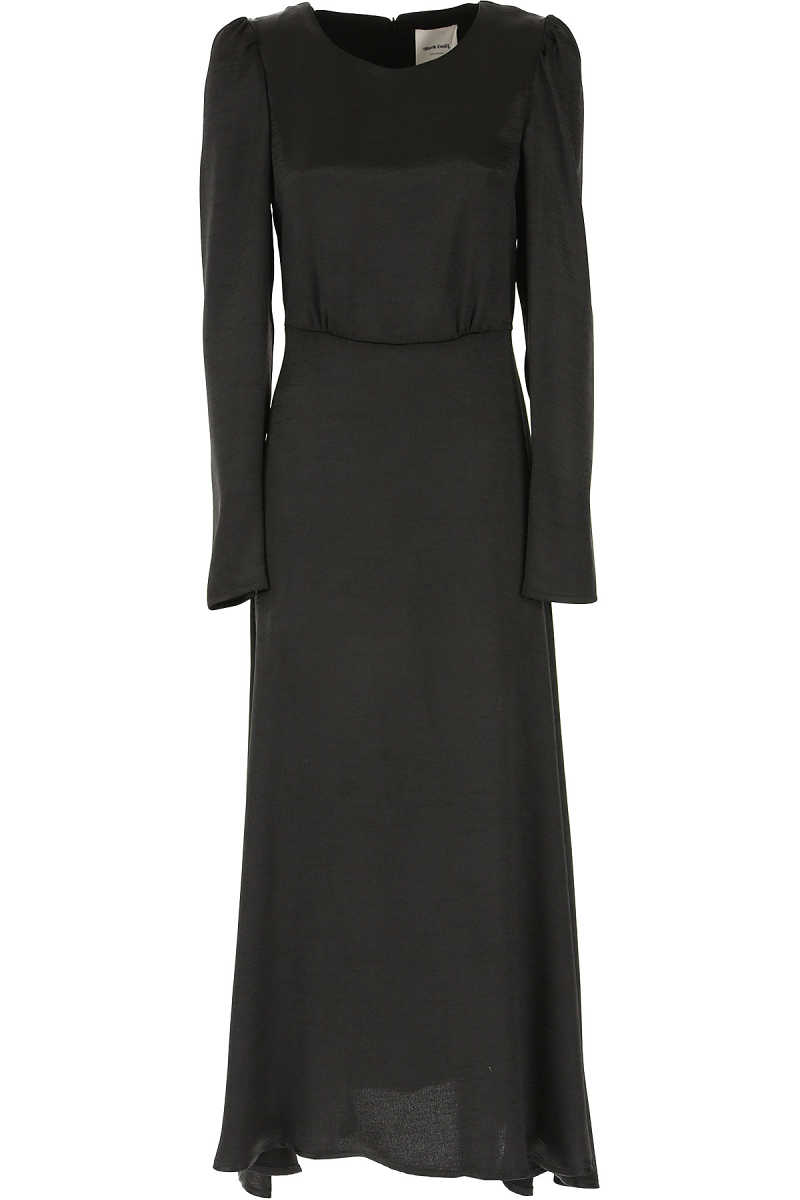 Black Coral Dress for Women 10 14 Evening Cocktail Party UK - GOOFASH - Womens DRESSES