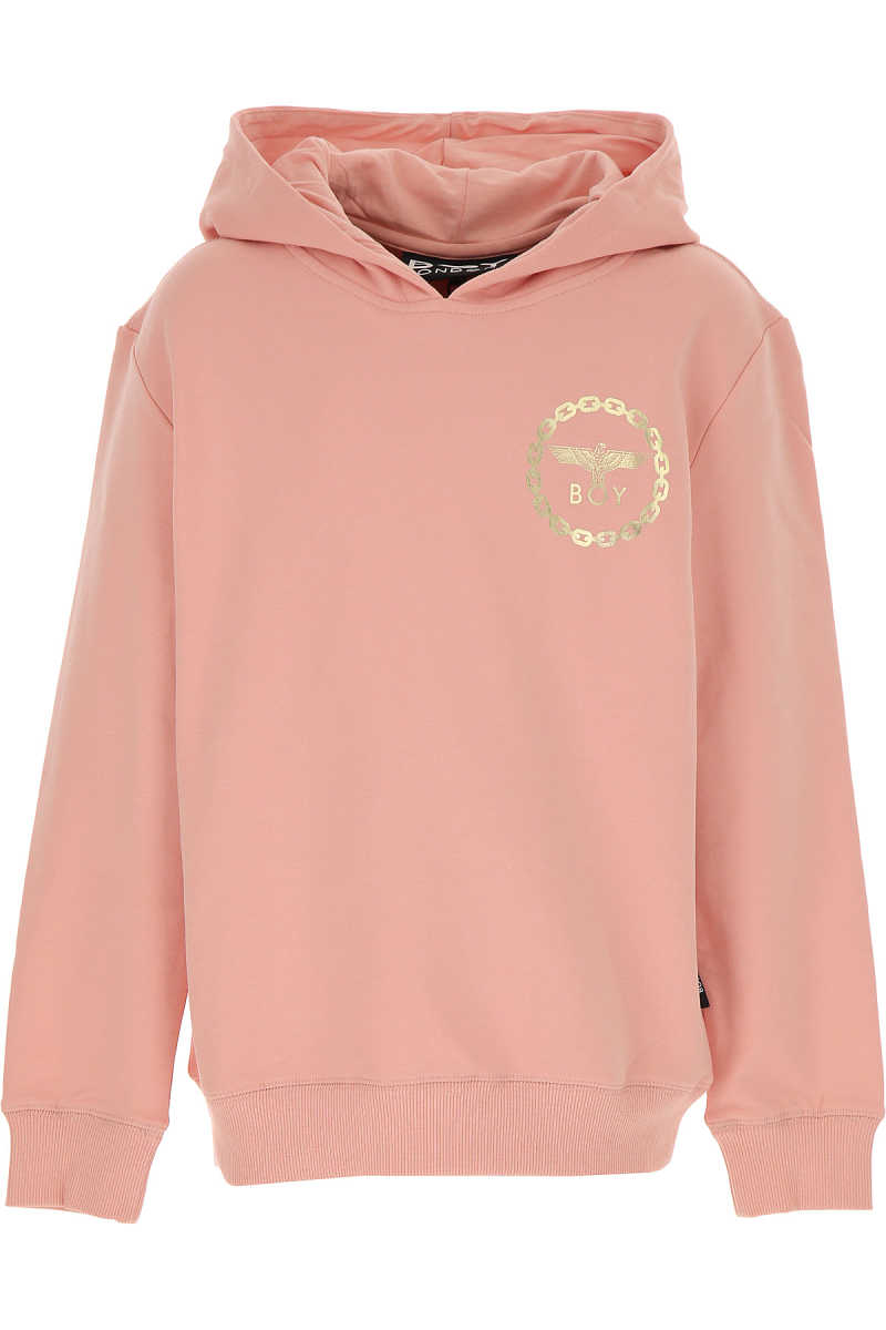 Boy London Kids Sweatshirts & Hoodies for Girls On Sale Pink - GOOFASH - Womens SWEATERS