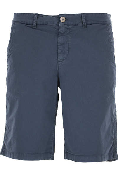 Brooksfield Shorts for Men On Sale Faded Blue Navy - GOOFASH