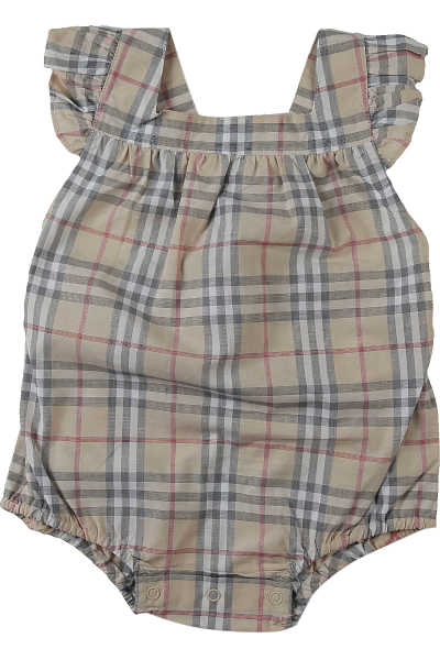 Burberry Baby Bodysuits & Onesies for Girls On Sale Beige - GOOFASH - Womens SUITS