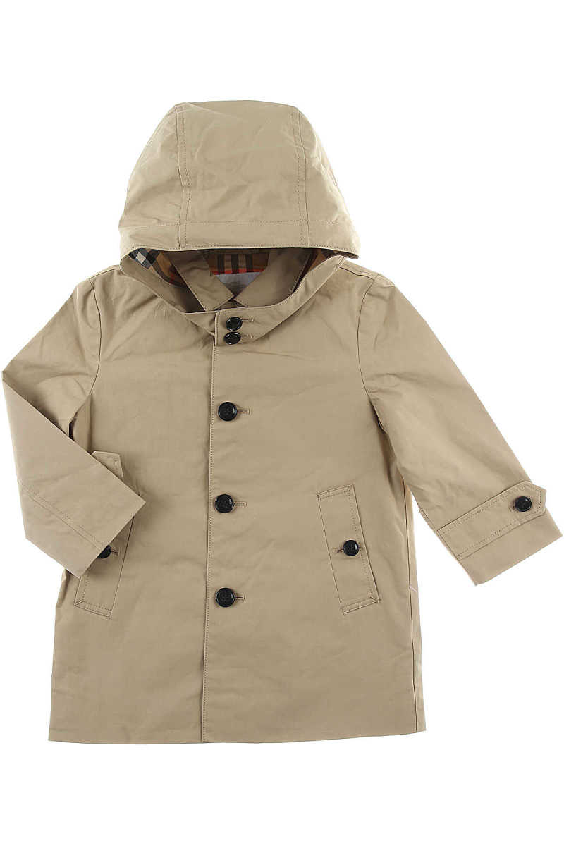 Burberry Baby Jacket for Girls On Sale Honey - GOOFASH - Womens JACKETS