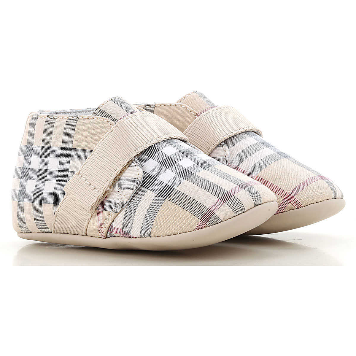 Burberry Baby Shoes for Boys On Sale Pale Stone - GOOFASH -
