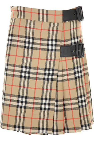 Burberry Kids Skirts for Girls Sand - GOOFASH - Womens SKIRTS