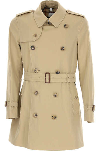 Burberry Men's Coat Beige - GOOFASH