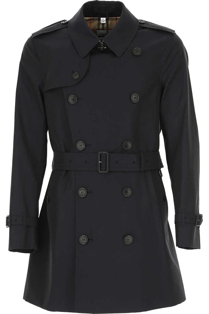 Burberry Men's Coat Midnight Blue UK - GOOFASH - Mens COATS