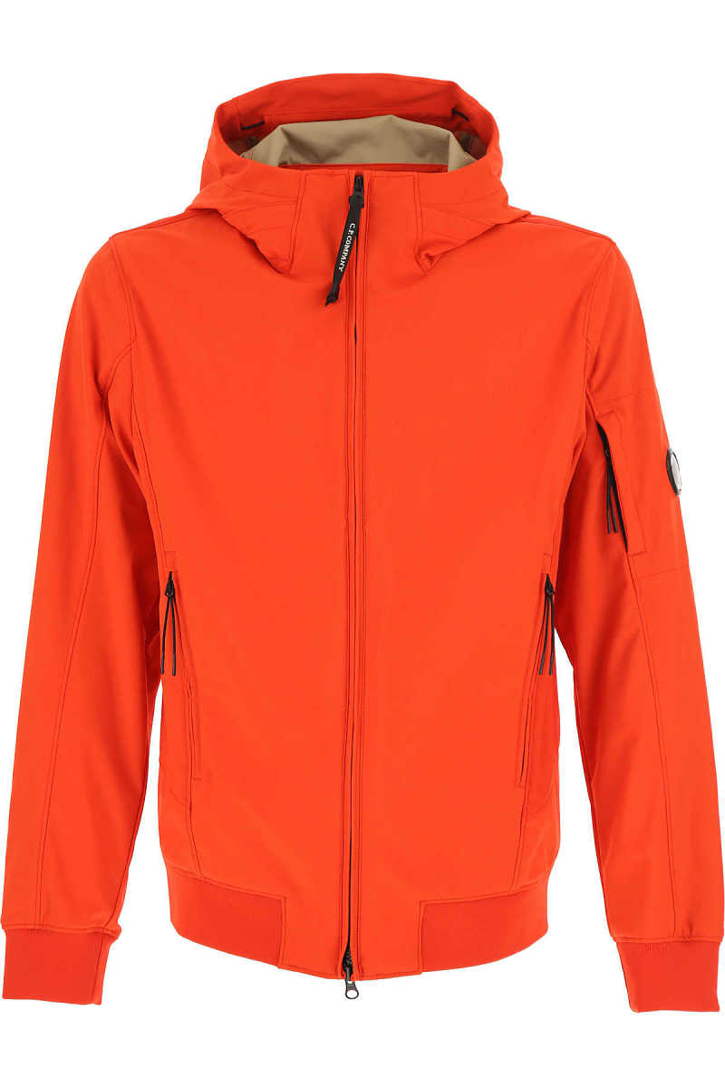 C.P. Company Jacket for Men On Sale Red - GOOFASH