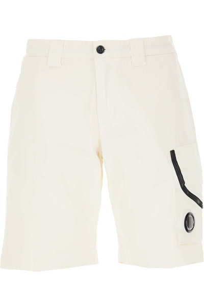 C.P. Company Shorts for Men On Sale White UK - GOOFASH - Mens SHORTS