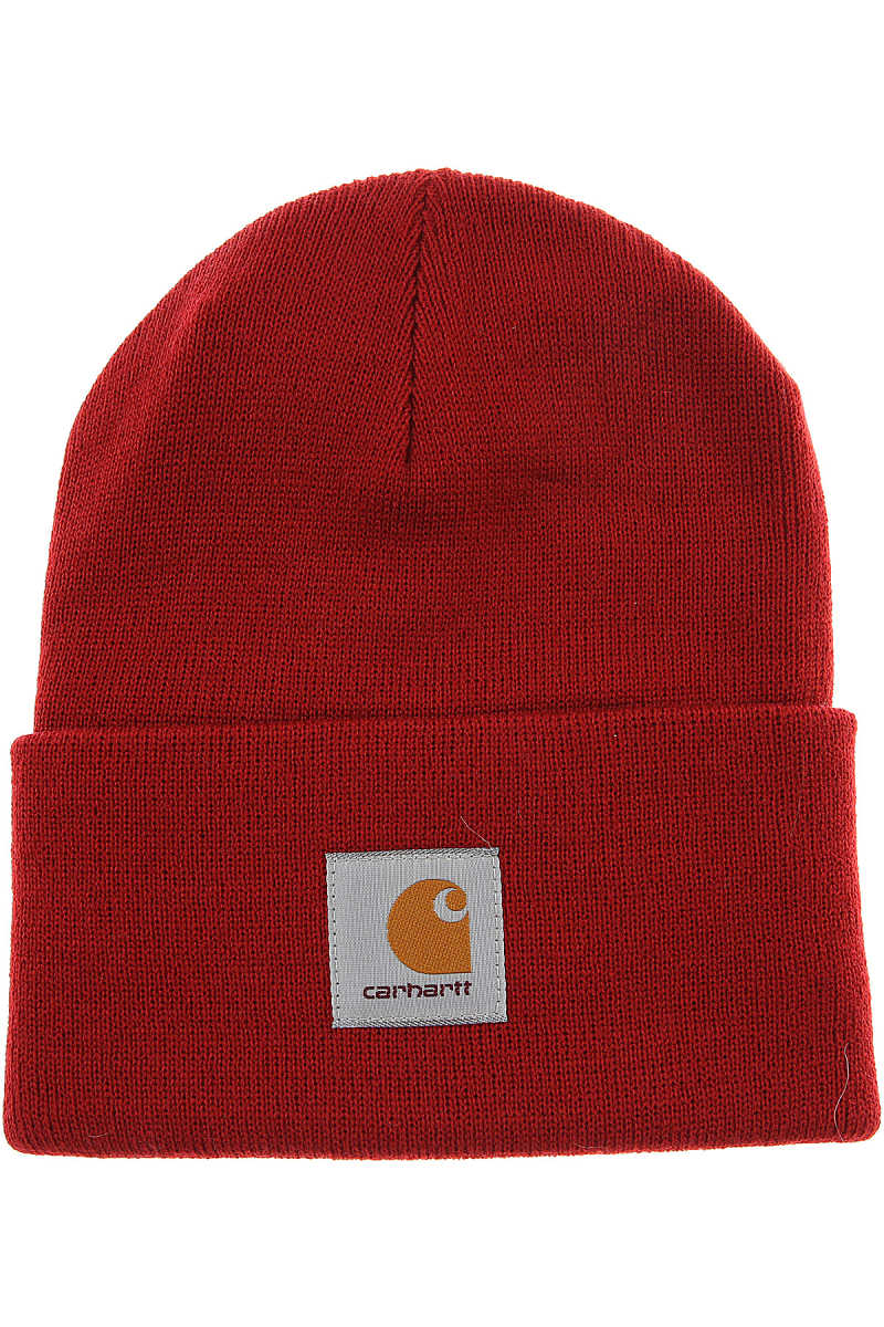 Carhartt Hat for Women On Sale in Outlet Bright Red UK - GOOFASH - Mens HATS