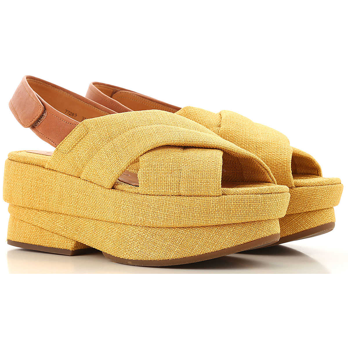 Chie Mihara Sandals for Women On Sale Yellow UK - GOOFASH