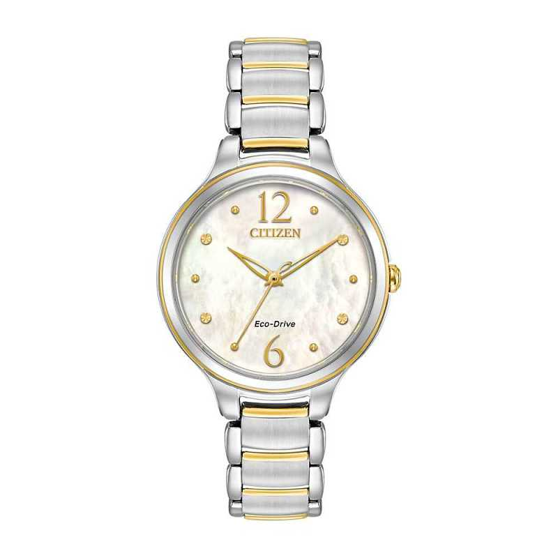 Citizen® Eco-Drive™ L Series Two-Tone Ladies' Watch - Citizen Eco-Drive USA - GOOFASH - Womens WATCHES