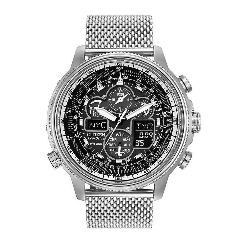 Citizen® Eco-Drive™ Navihawk A-T Men's Watch - Citizen Eco-Drive USA - GOOFASH - Mens WATCHES