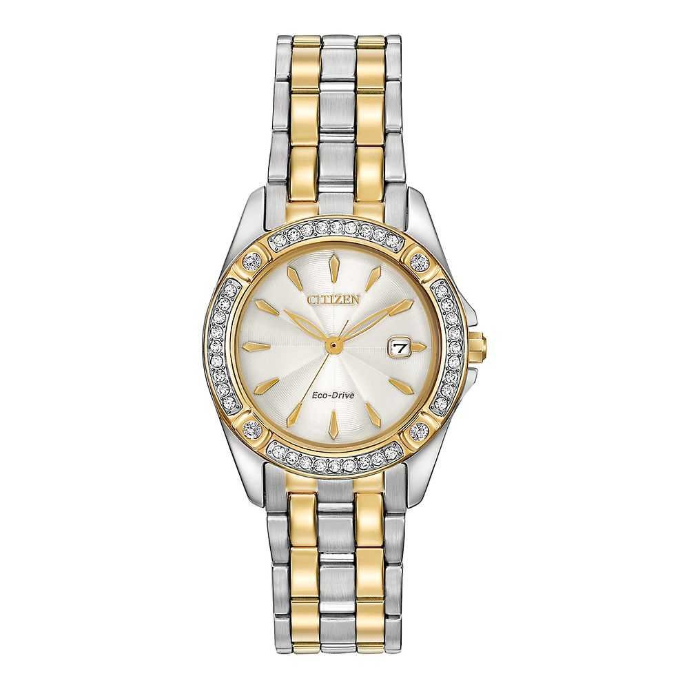 Citizen® Eco-Drive™ Silhouette Crystal Collection Ladies' Watch - Citizen Eco-Drive USA - GOOFASH - Womens WATCHES