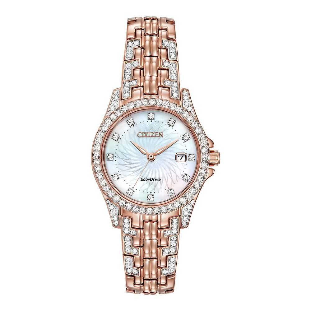 Citizen® Eco-Drive™ Silhouette Crystal Ladies' Watch - Citizen Eco-Drive USA - GOOFASH - Womens WATCHES
