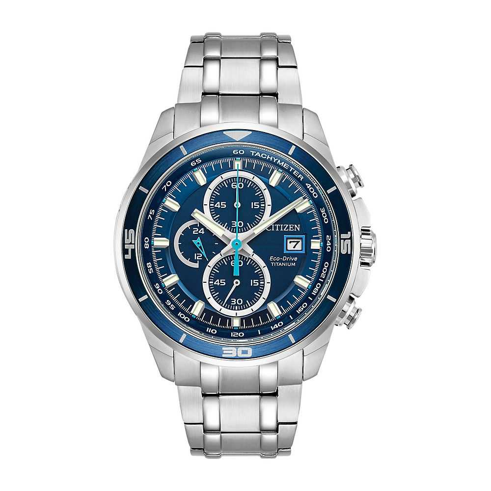Citizen® Eco-Drive™ Super Titanium Chronograph Men's Watch - Citizen Eco-Drive USA - GOOFASH - Mens WATCHES