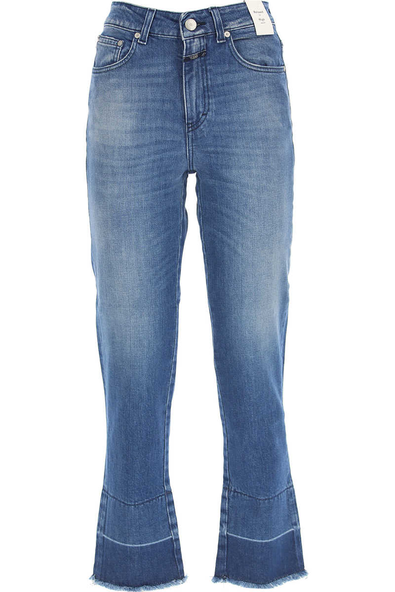 Closed Jeans On Sale Mid Blue UK - GOOFASH - Womens JEANS