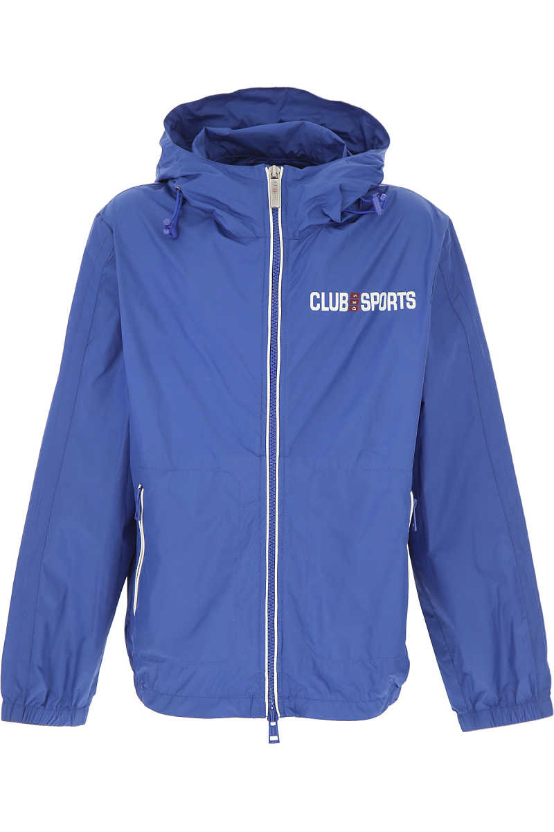 Club Sport Kids Jacket for Boys On Sale in Outlet Blue - GOOFASH - Mens JACKETS