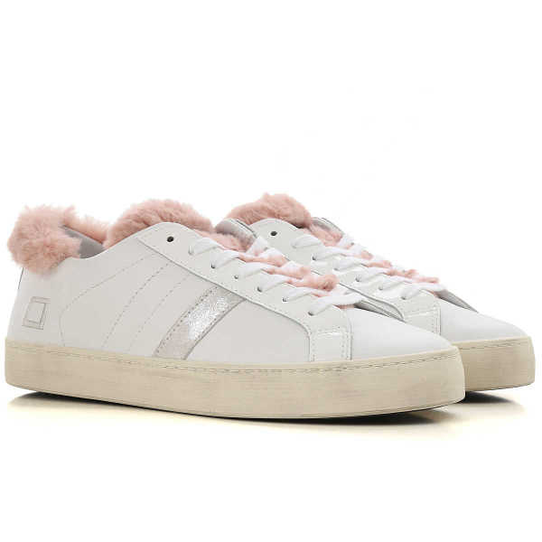 D.A.T.E. Sneakers for Women On Sale White UK - GOOFASH