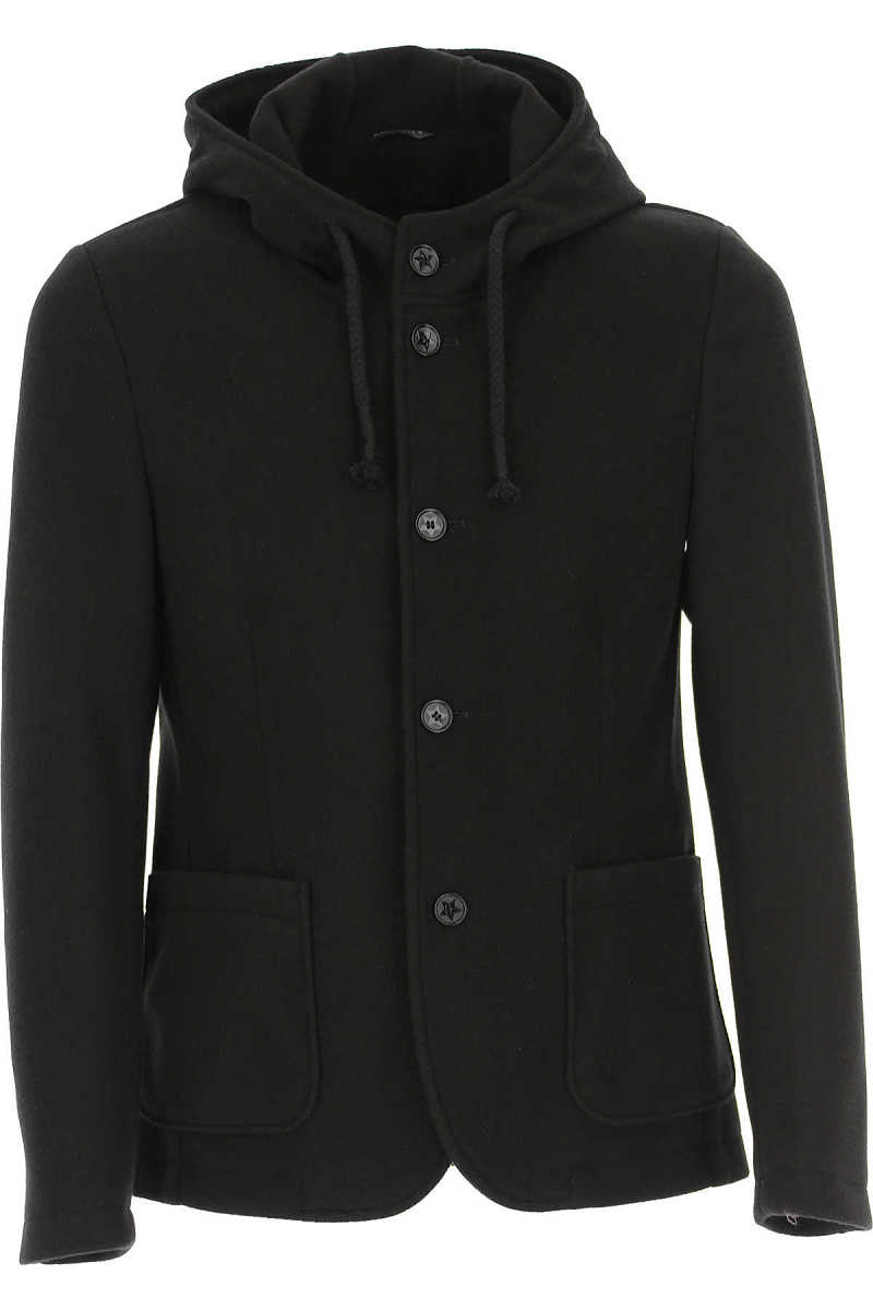 Daniele Alessandrini Men's Coat Black - GOOFASH