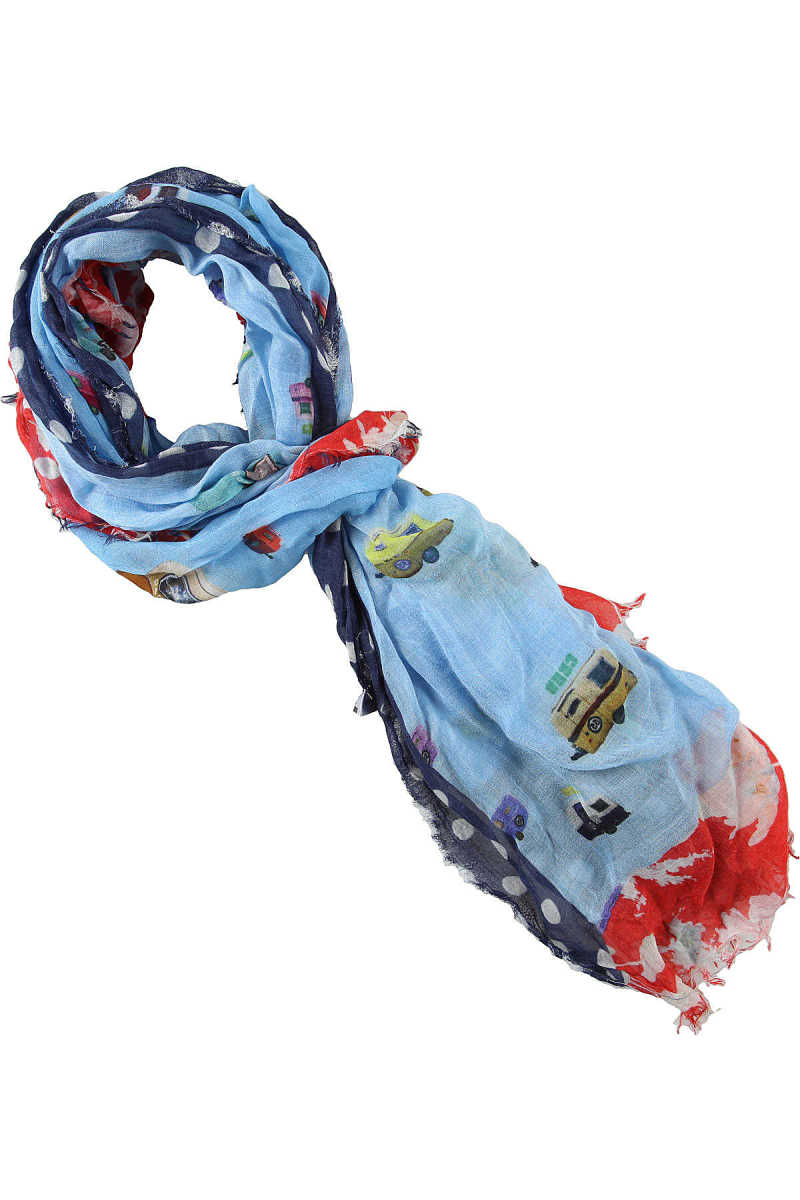Daniele Alessandrini Scarf for Men On Sale Multicolor - GOOFASH