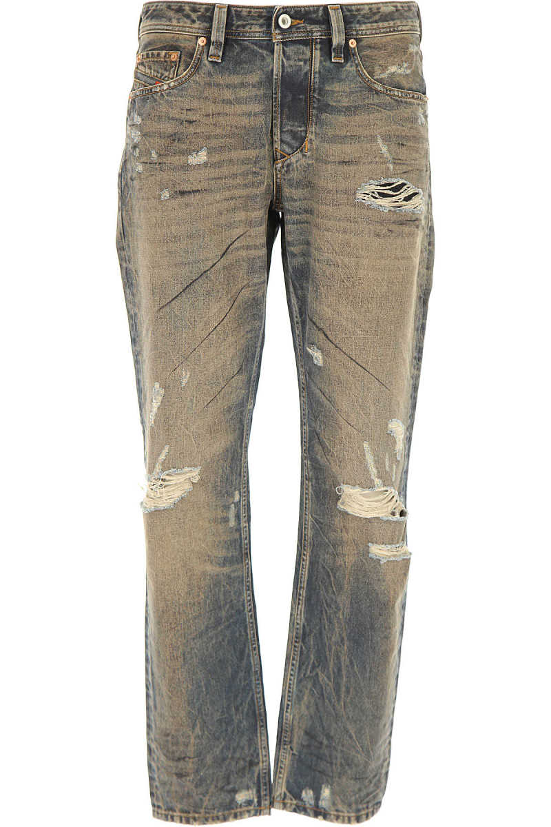 Diesel Jeans On Sale in Outlet Cotton UK - GOOFASH - Mens JEANS