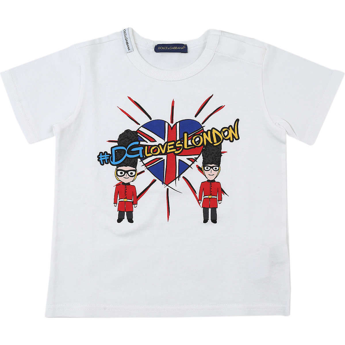 Dolce & Gabbana Baby T-Shirt for Boys On Sale in Outlet White - GOOFASH - Mens T-SHIRTS