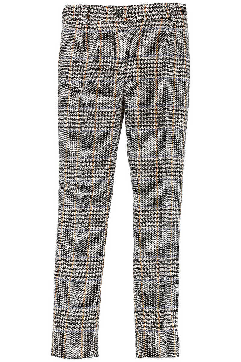 Dolce & Gabbana Kids Pants for Girls On Sale in Outlet Black UK - GOOFASH - Womens TROUSERS
