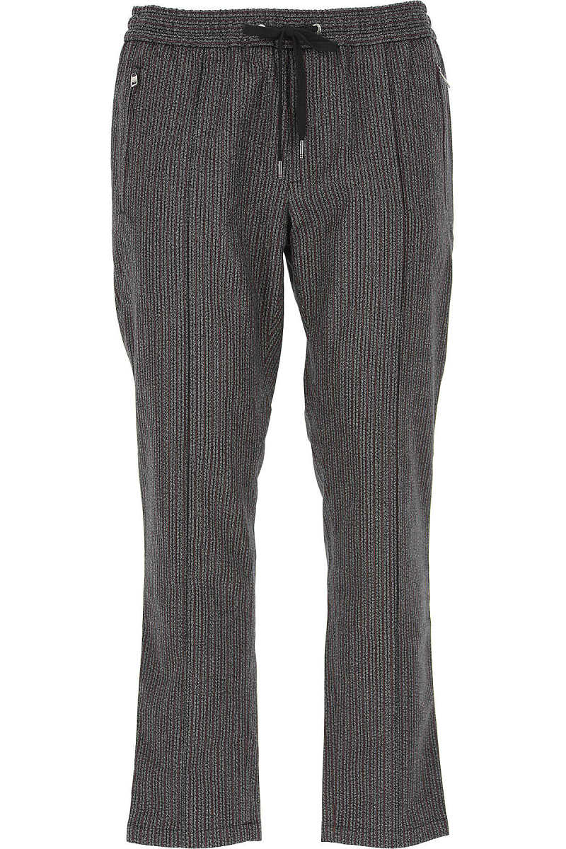 Dolce & Gabbana Pants for Men On Sale in Outlet Grey UK - GOOFASH - Mens TROUSERS