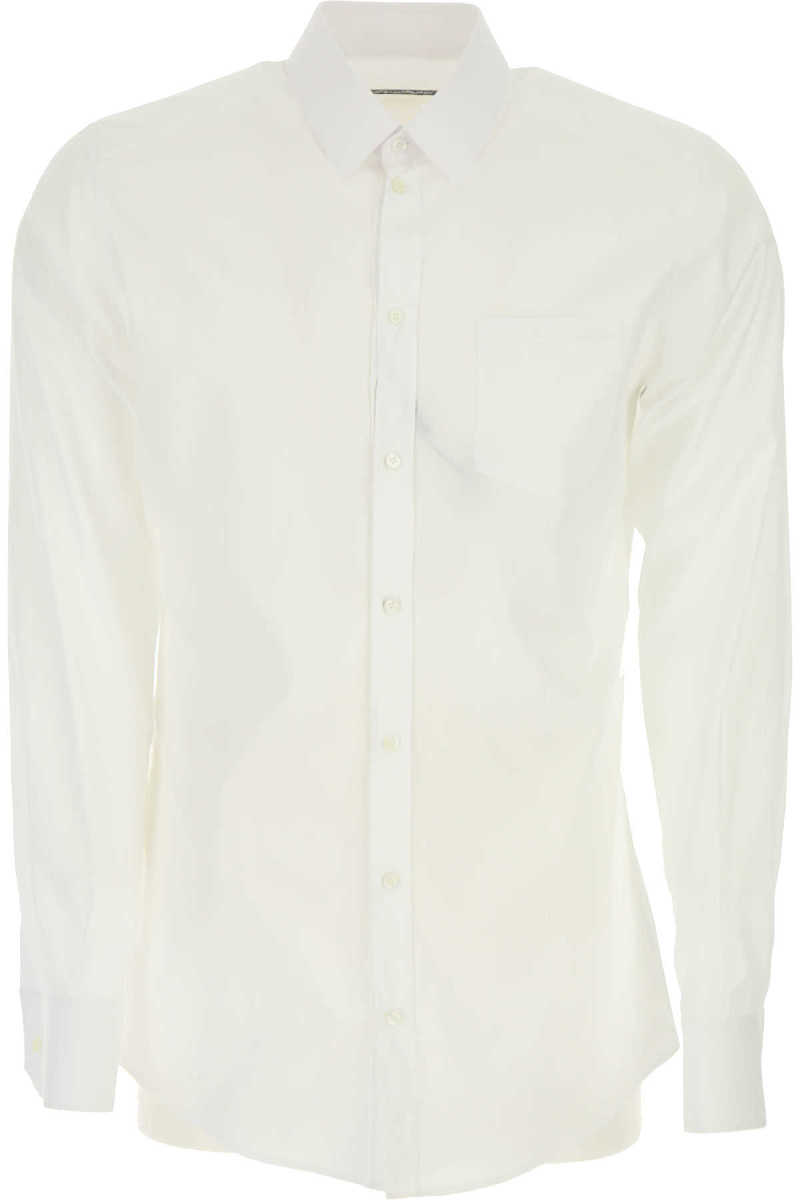 Dolce & Gabbana Shirt for Men On Sale in Outlet White UK - GOOFASH - Mens SHIRTS