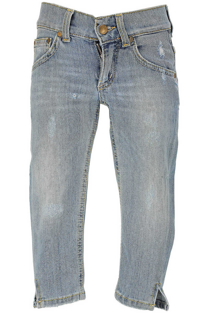 Dondup Kids Jeans for Girls On Sale in Outlet Blue Denim UK - GOOFASH - Womens JEANS