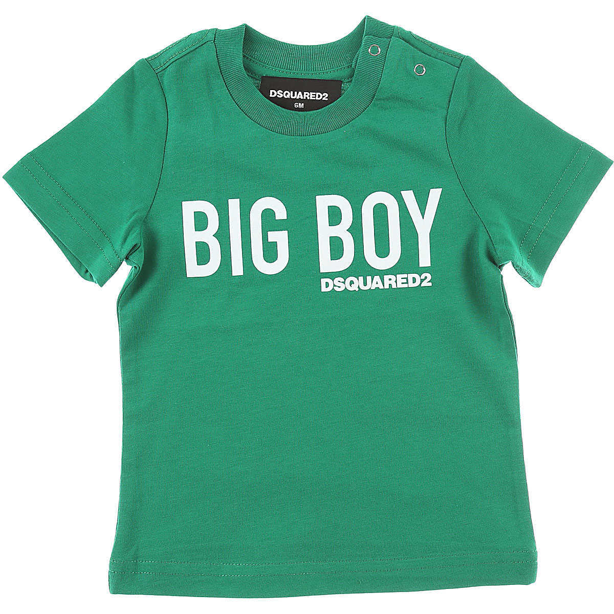 Dsquared2 Baby T-Shirt for Boys On Sale Green UK - GOOFASH - Mens T-SHIRTS