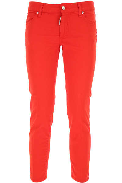 Dsquared2 Jeans On Sale Red - GOOFASH