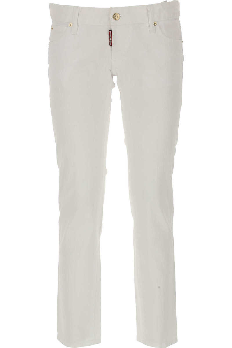 Dsquared2 Jeans On Sale in Outlet White - GOOFASH