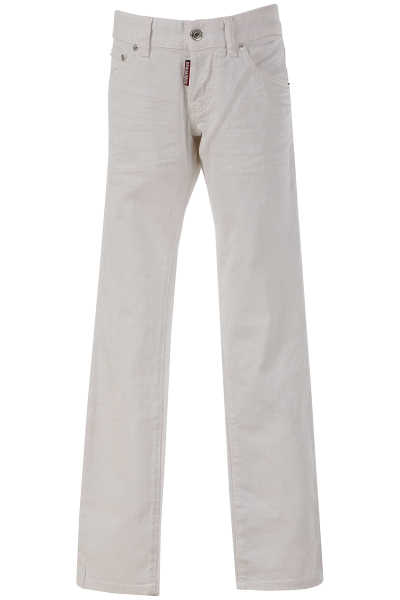 Dsquared2 Kids Jeans for Girls On Sale in Outlet White UK - GOOFASH - Womens JEANS