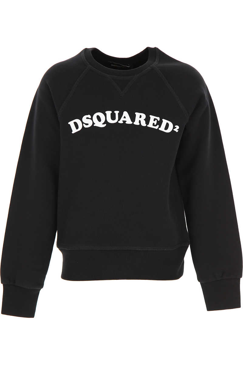 Dsquared2 Kids Sweatshirts & Hoodies for Boys Black - GOOFASH - Mens SWEATERS