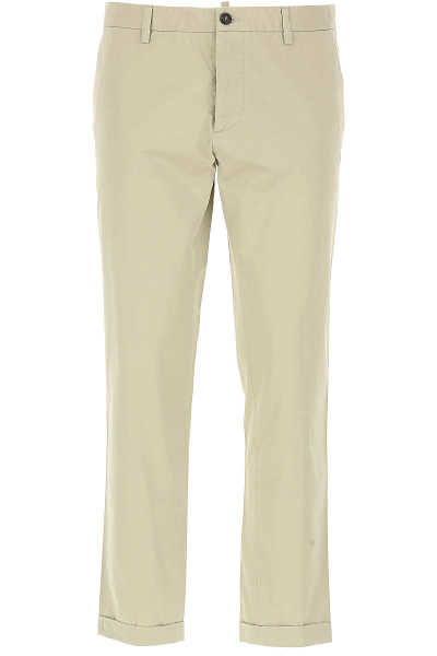 Dsquared2 Pants for Men On Sale in Outlet Beige - GOOFASH
