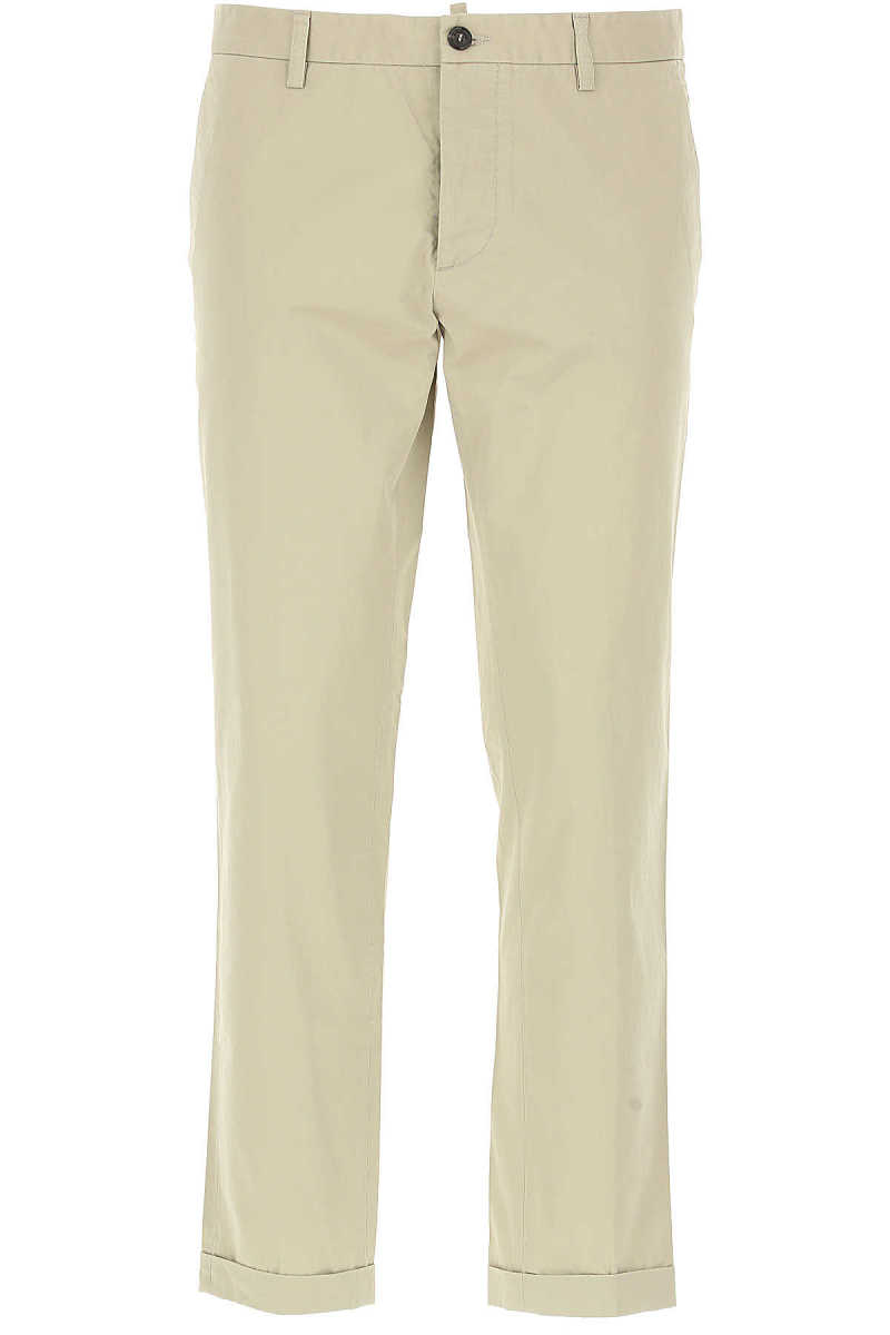 Dsquared2 Pants for Men On Sale in Outlet Beige UK - GOOFASH - Mens TROUSERS