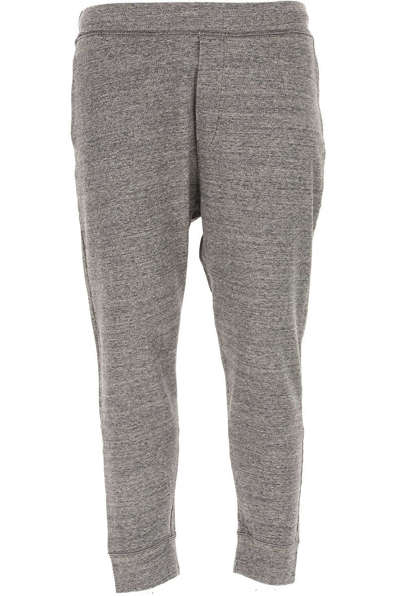Dsquared2 Pants for Men On Sale in Outlet Grey - GOOFASH