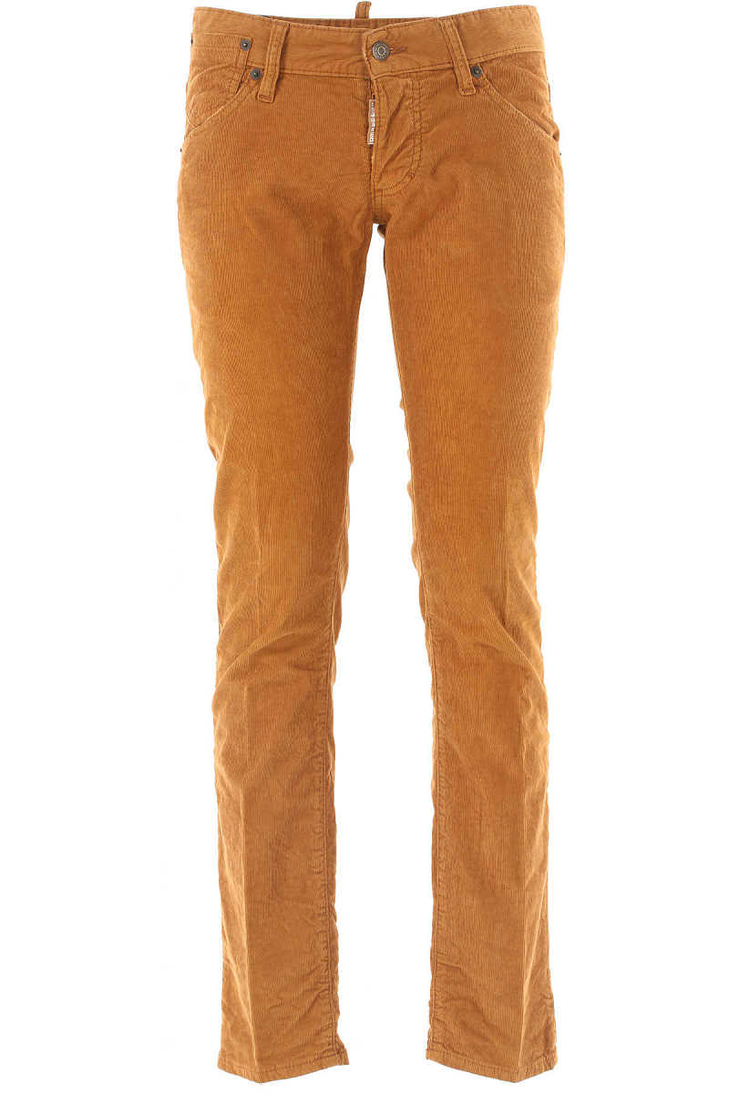 Dsquared2 Pants for Men On Sale in Outlet Rust - GOOFASH