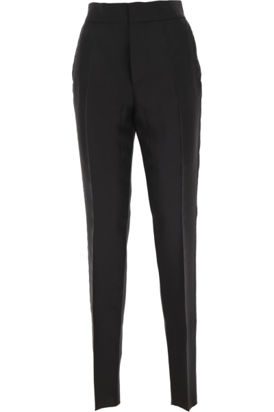 Dsquared2 Pants for Women Black - GOOFASH