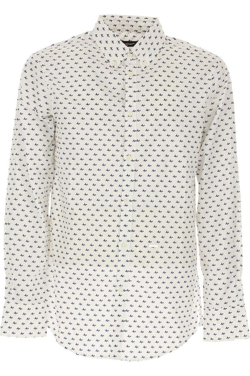 Dsquared2 Shirt for Men On Sale in Outlet White UK - GOOFASH - Mens SHIRTS