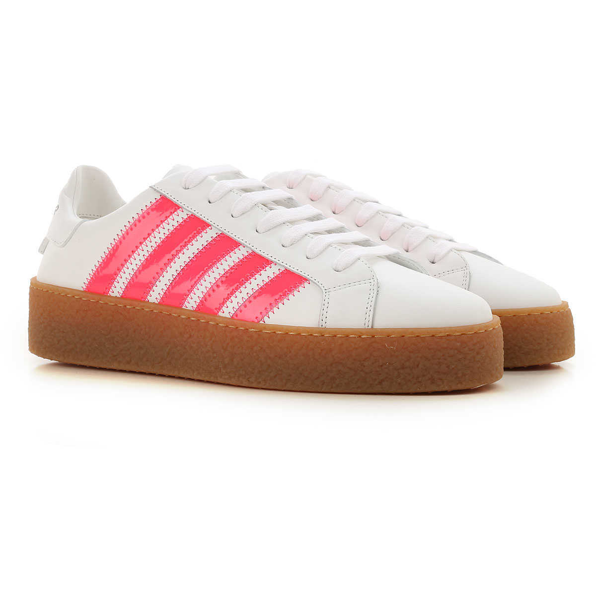 Dsquared2 Sneakers for Women On Sale White UK - GOOFASH