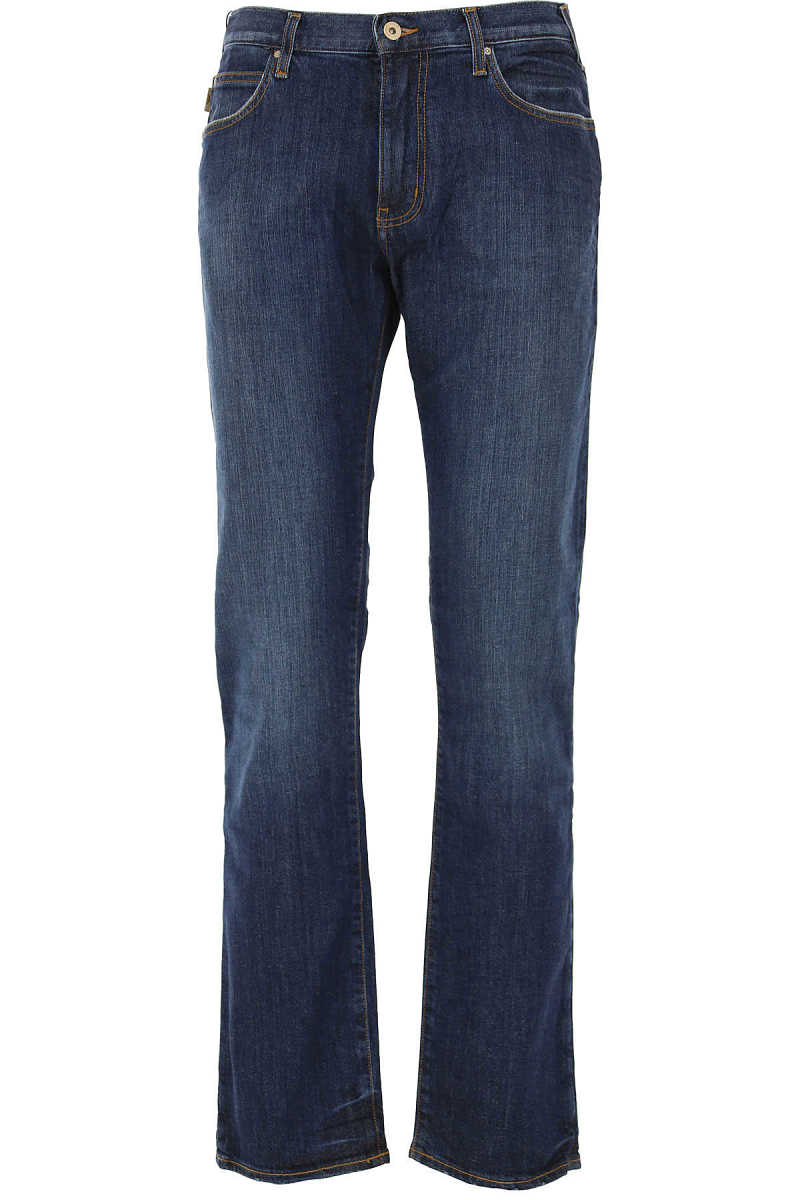 Emporio Armani Jeans On Sale in Outlet Denim Blue - GOOFASH
