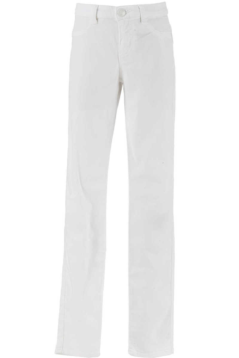 Emporio Armani Kids Pants for Girls On Sale in Outlet White - GOOFASH - Womens TROUSERS