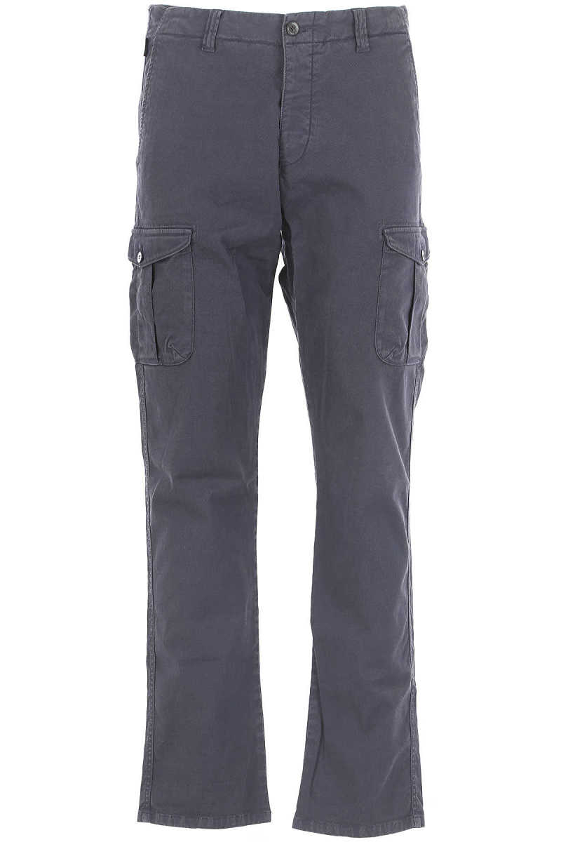 Emporio Armani Pants for Men On Sale in Outlet Blue - GOOFASH