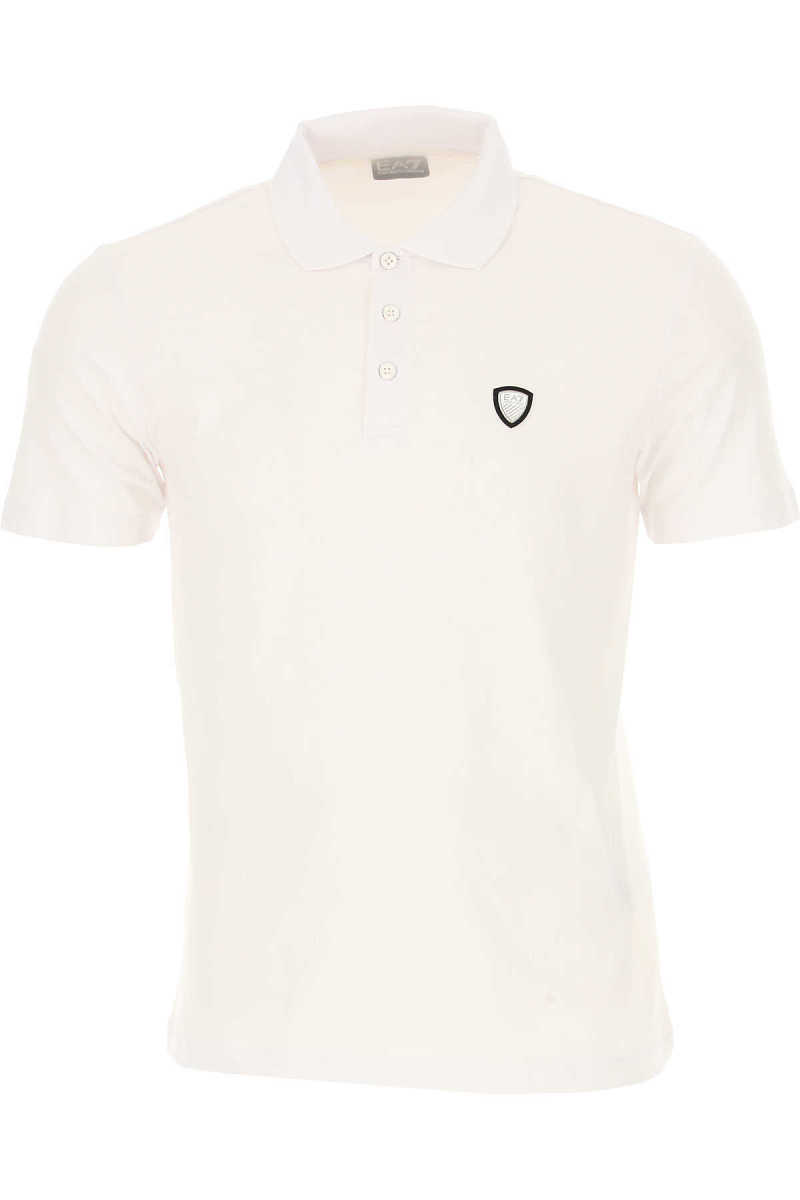 Emporio Armani Polo Shirt for Men White UK - GOOFASH - Mens POLOSHIRTS
