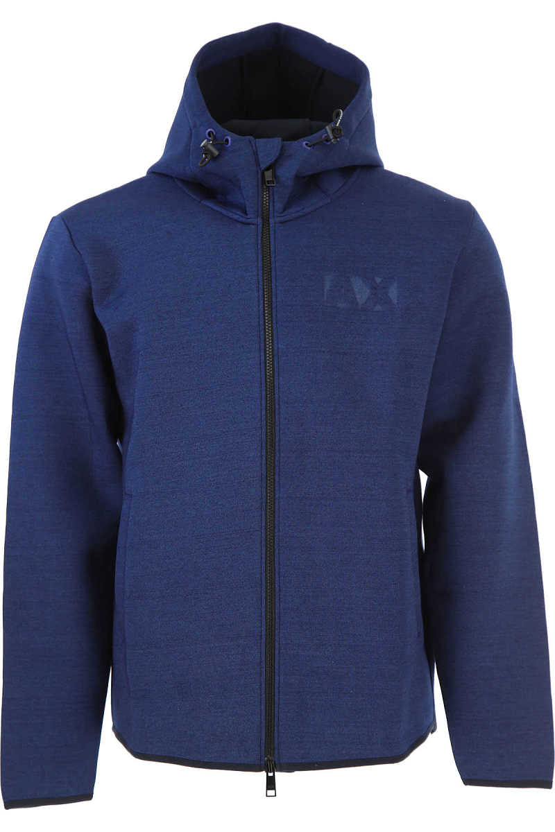 Emporio Armani Sweatshirt for Men On Sale in Outlet Blue - GOOFASH