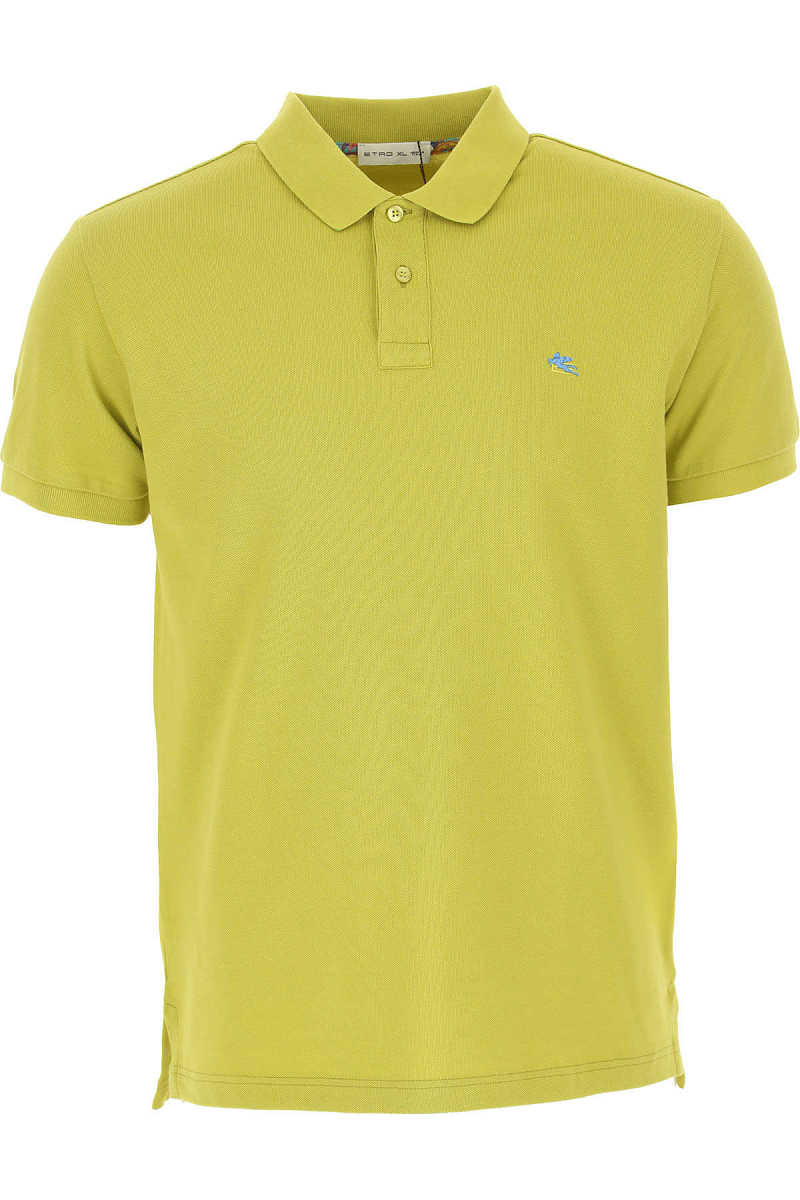 Etro Polo Shirt for Men Pistachio - GOOFASH
