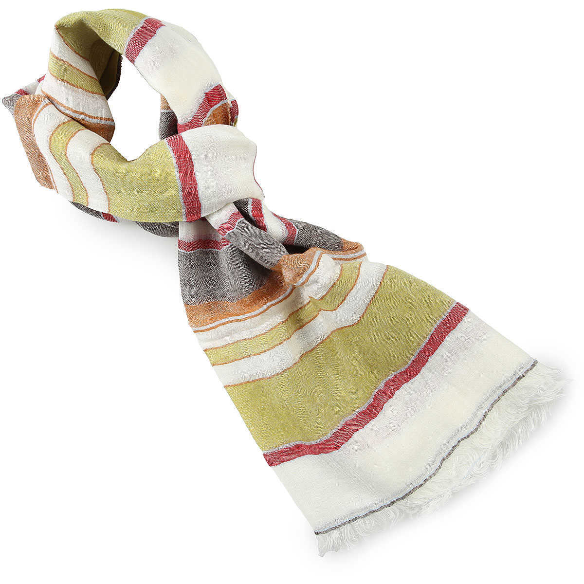 Etro Scarf for Men On Sale Natural UK - GOOFASH - Mens SCARFS